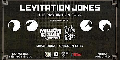 Levitation Jones - Des Moines tickets