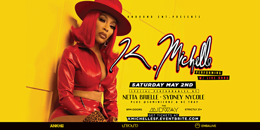 K. Michelle Performing Live