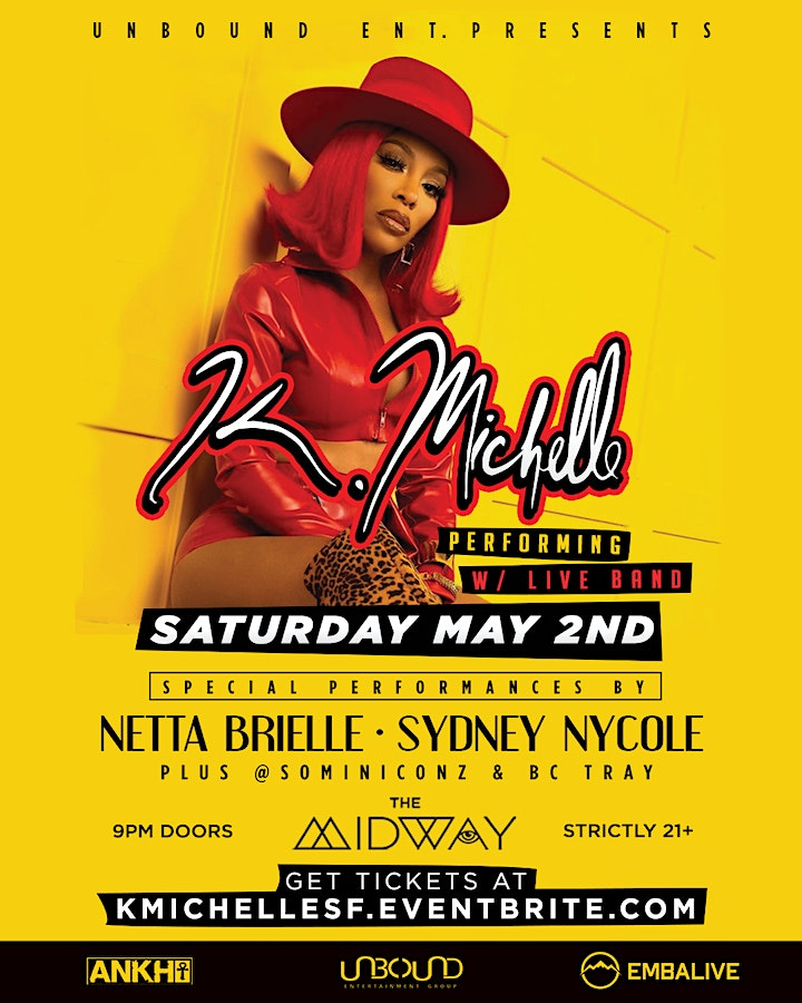 K. Michelle Performing Live image