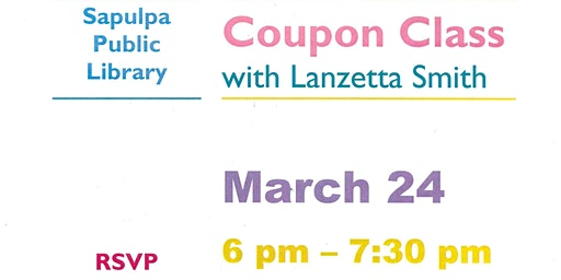Coupon Class with Lanzetta Smith