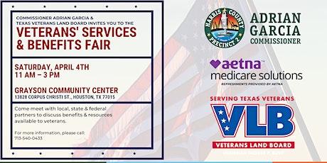 POSTPONED: Precinct 2 & Texas Veterans Land Board Services & Benefits Fair tickets