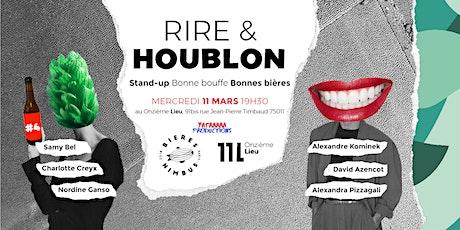 Rire & Houblon // 11.03.2020 billets