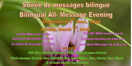 Sunday Service Celebration: Bilingual French-English