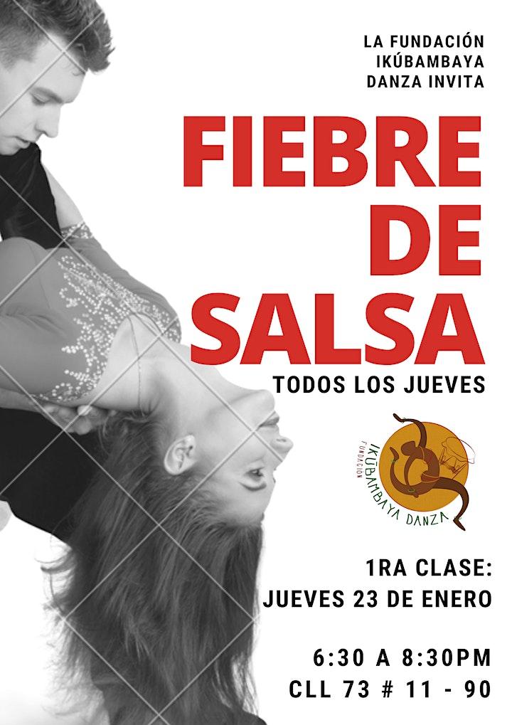 Imagen de Fiebre de salsa