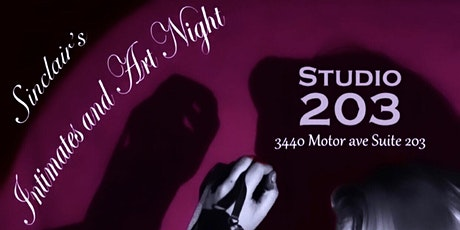 Sinclair's Intimates and Art Night at Studio 203 tickets