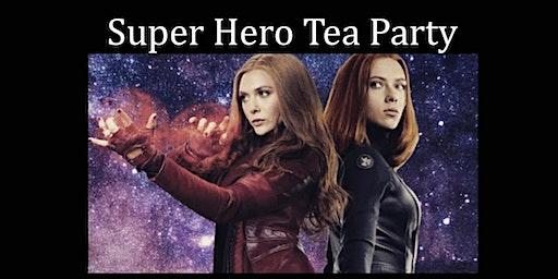 Super Hero Tea Party with Natasha and Wanda