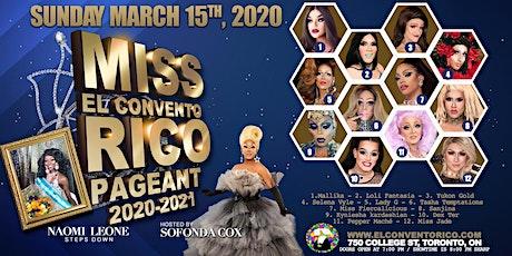 Miss El Convento Rico Pageant 2020 tickets