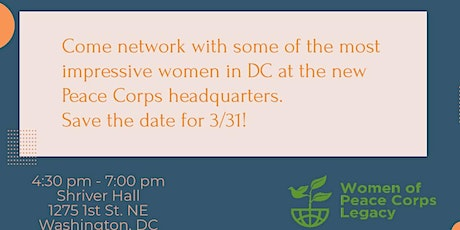 Network with Women of Peace Corps Legacy tickets