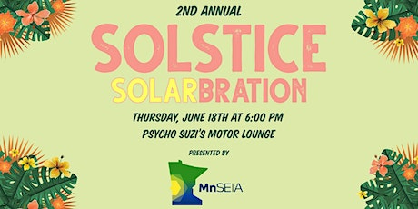 MnSEIA's 2nd Annual Solstice Solarbration Fundraiser   tickets