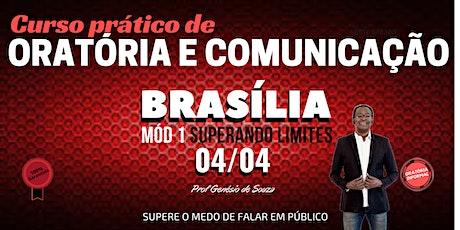 Curso pratico de oratória em Brasília ingressos