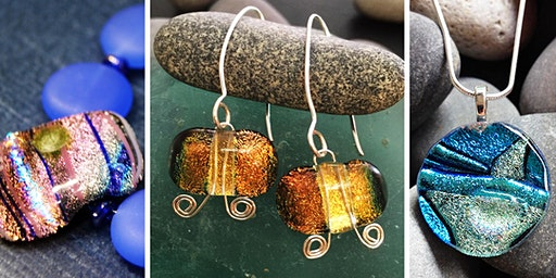 Fused Glass Jewelry Two-Day Saturday Workshop - March 14th and 21st
