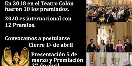 PREMIOS ART NOUVEAU 2020 Patrimonio y Turismo, presentación con el Jurado entradas