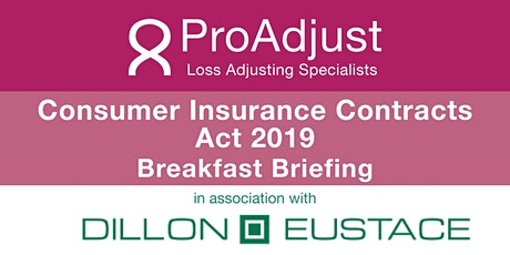 Consumer Insurance Contracts Act 2019 Breakfast Briefing tickets