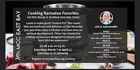 Ramadan Favorites Cooking Class tickets