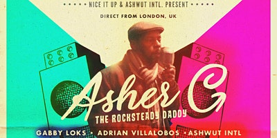 IN THE CAFÉ: Nice It Up with Asher C: The Rocksteady Daddy & More