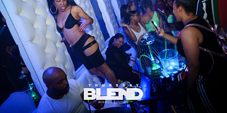 DC's Best Thursday Night Vibe! Thursday Blend at Mirror Lounge: 10PM-2AM tickets