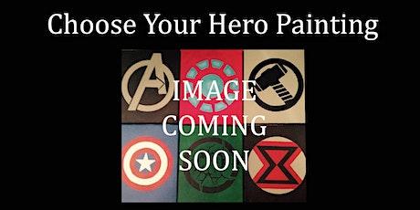 Avenging Hero Logo Painting tickets