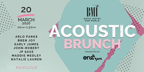 BMI Acoustic Brunch tickets