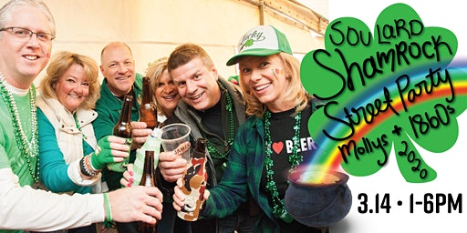 Soulard Shamrock Street Party - Free Event, VIP All Inclusive Available