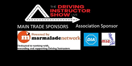 Driving Instructor Show LIVE tickets