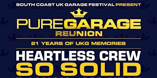 Pure Garage - South Coast UK Garage Festival