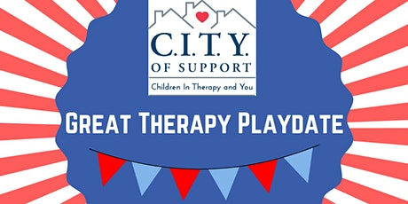Great Therapy Playdate-April 19, 2020 tickets