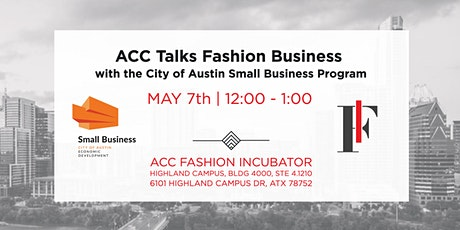 ACC Talks Fashion Business tickets