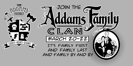 The Addams Family Musical--Friday tickets
