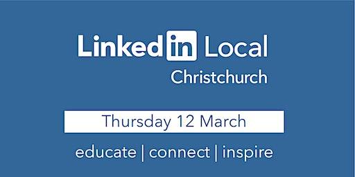 Linkedin Local - Christchurch!