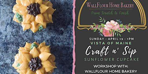 Craft n' Sip Sunflower Cupcakes