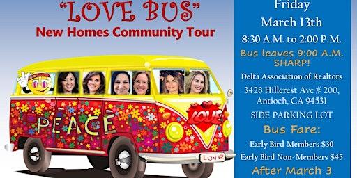 """""""Love Bus"""" New Home Community Bus Tour"""