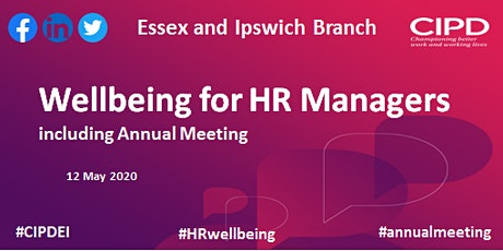 Wellbeing for HR Managers POSTPONED tickets