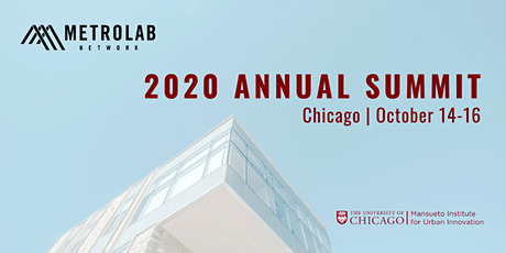 MetroLab Network 2020 Annual Summit tickets
