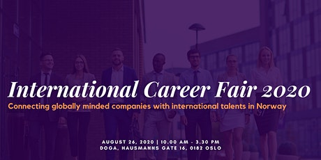 International Career Fair 2020 tickets