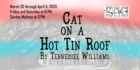 Cat on a Hot Tin Roof - Tennessee Williams at Bay Area Stage Theatre tickets