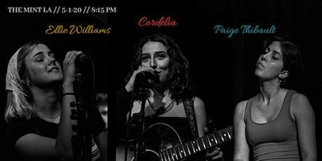 Cordelia, Ellie Williams, Paige Thibault, Adanna Duru tickets