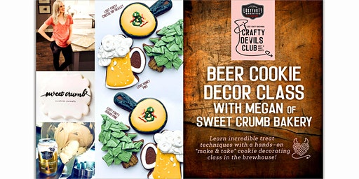 Sweet Crumb Cookie Decorating Workshop at Lost Forty Brewing