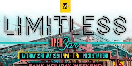 Limitless - Open Bar ( Bank Holiday Weekend) tickets