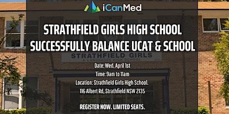 Free UCAT Workshop (Strathfield Girls): Successfully Balancing UCAT Prep with School!  tickets