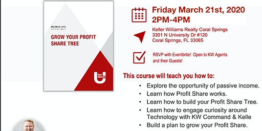 KWU Grow your profit share tree - KW Coral Springs