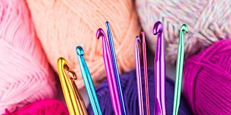 Sip & Craft Crochet Workshop: Summer Top (2 Part Class) tickets