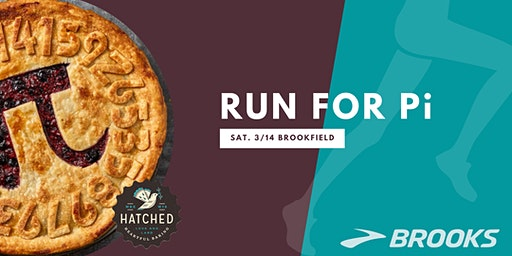 Pi(e) Day Fun Run with Brooks and Hatched - 3/14