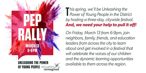 Pep Rally - Unleashing the Power of Young People