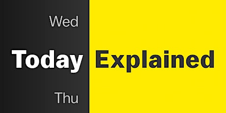 Today, Explained - Live tickets