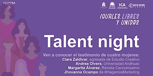 Talent Nights Cancún | Edición Woman