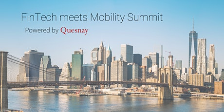 FinTech meets Mobility Summit tickets