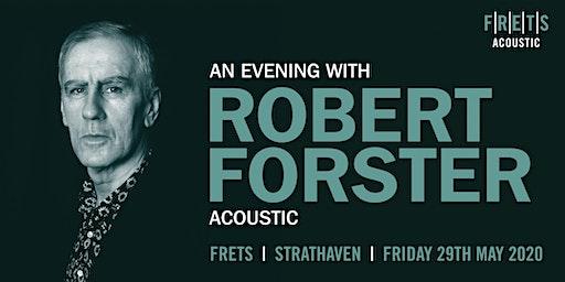 Robert Forster (acoustic concert)