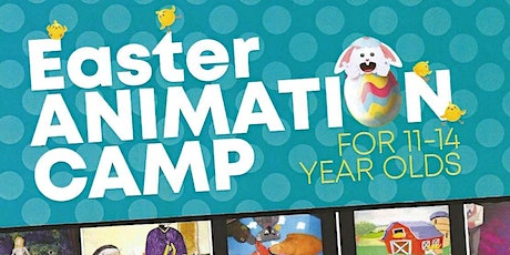 Easter Animation Camp 11-14 Year Old tickets