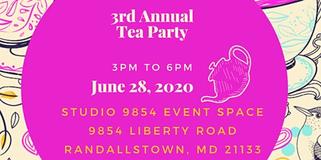 3rd Annual Tea Party tickets