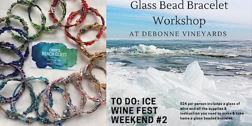 Glass Bead Bracelet Workshop